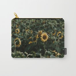 Sunflowers // Carry-All Pouch