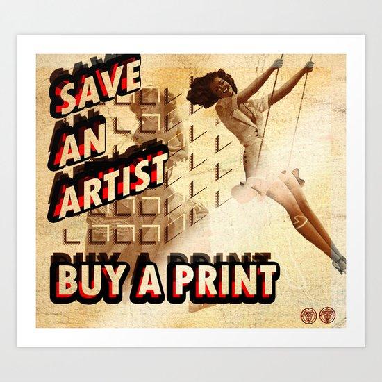 Shameless Self Promotion #1 Art Print