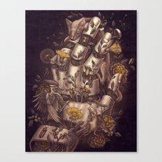 Disperse Canvas Print