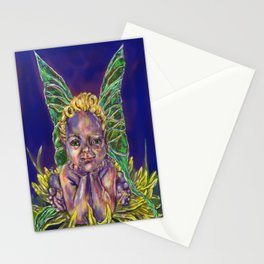 Dandy Leon Faerie Baby Stationery Cards