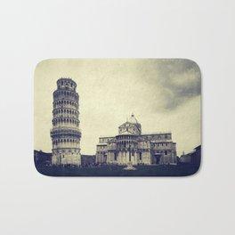 Leaning tower of Pisa Bath Mat