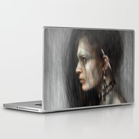 tribal Laptop & iPad Skins featuring Tribal by Justin Gedak