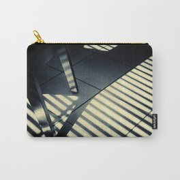 Shadow Slit Abstract Carry-All Pouch