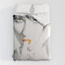 Burning sun Comforters