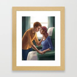 In Sickness and in Health Framed Art Print
