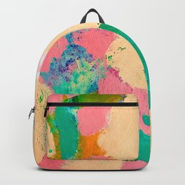 Birthday Cake, Abstract Backpack