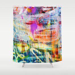 FLOWS Shower Curtain