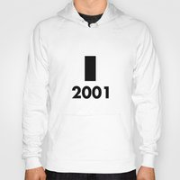 2001 a space odyssey Hoodies featuring 2001: A Minimalist Space Odyssey by João Malossi