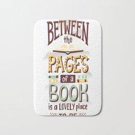 Between pages Bath Mat