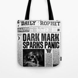 Daily Prophet newspaper Tote Bag