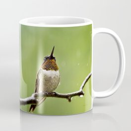 Ruby Throated Hummingbird II Coffee Mug
