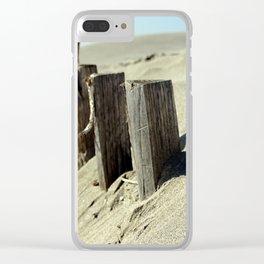 Guard beach Clear iPhone Case