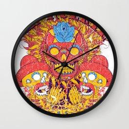 Dia de lor muertos Wall Clock