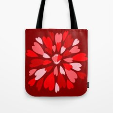 Love Is / Hearts Galore Tote Bag
