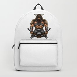Norseman Berserker | Viking Warrior Valhalla Odin Backpack