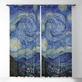 """Stary Night"" Van Gogh Blackout Curtain"