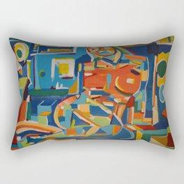 Reclining Figure - 2005 Rectangular Pillow