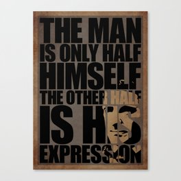 Emerson's Expression Canvas Print
