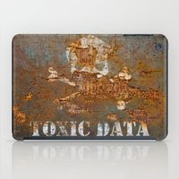 data iPad Cases featuring Toxic Data by Hans Duenas
