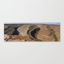 The Goosnecks - A Meander Of The San Juan River Canvas Print