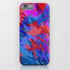 exploding coral Slim Case iPhone 6s