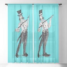 Ring Leader Sheer Curtain