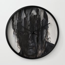 Portrait of Ian Curtis Wall Clock