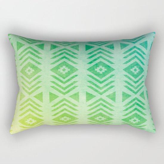 Aztec Pattern 01 Rectangular Pillow