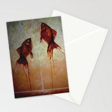goldfish twilight Stationery Cards