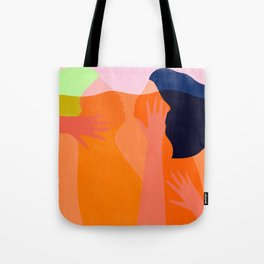 connected in love Tote Bag