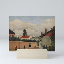 Outskirts of Paris (Environs de Paris) (ca. 1895) by Henri Rousseau. Mini Art Print