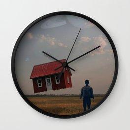 Gravity Off Wall Clock