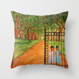 Still not free Throw Pillow