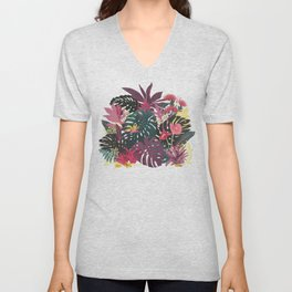 Tropical Tendencies Unisex V-Neck