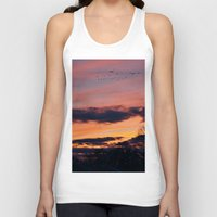 twilight Tank Tops featuring Twilight by Stephen Linhart