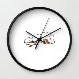 Health Food Wall Clock