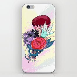 Chrysanth Wisteria & Lily - & Rose  iPhone Skin