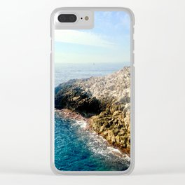 Sunday Sailing Clear iPhone Case