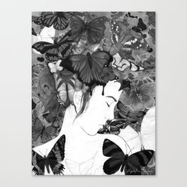Beauty Within Despair Canvas Print