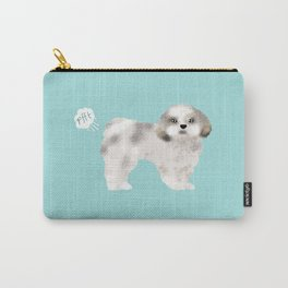 shih tzu funny farting dog breed pure breed pet gifts Carry-All Pouch
