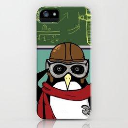 Little Penguin, Big Plans iPhone Case