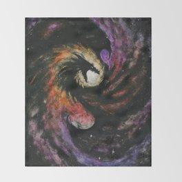 Dragon Galaxy Throw Blanket