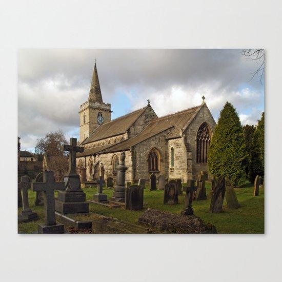 St. Ricarius, Aberford. Canvas Print