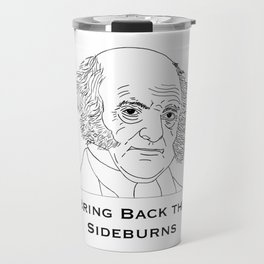 Bring Back The Sideburns Travel Mug