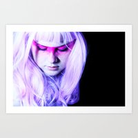 jem Art Prints featuring jem by zelie