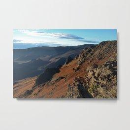 Mount Haleakala Metal Print
