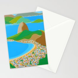 SUGAR LOAF IN RIO DE JANEIRO Stationery Cards
