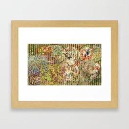 Jeune fille de joie usine (Factory girl joy) Framed Art Print