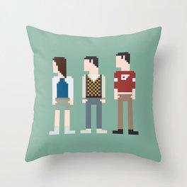 Ferris Bueller 8-Bit Throw Pillow