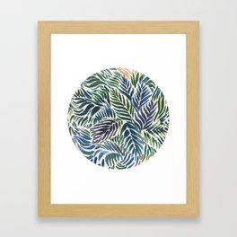 Overgrow Framed Art Print